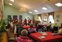 Hymns at the nursing home