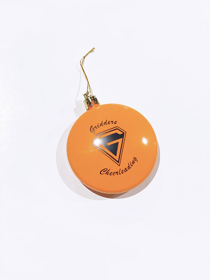 Gridders Cheerleading Christmas Ornament