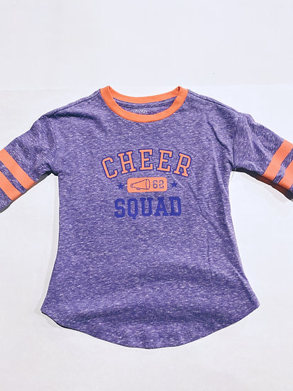 Cheer Squad Half Sleeve Top