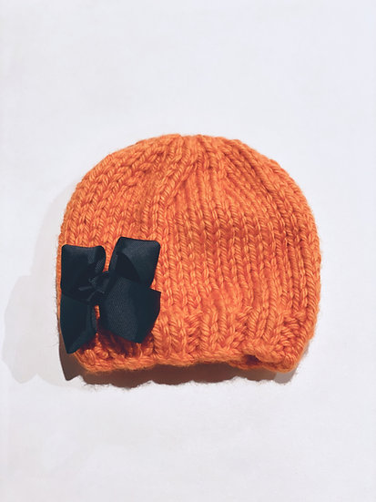 Bow Knit toque