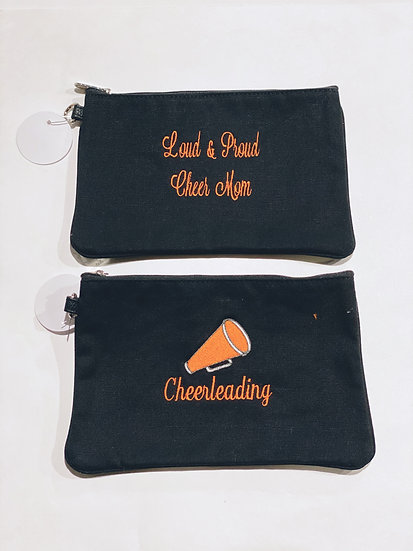 Loud & Proud Cheer Mom Pouch