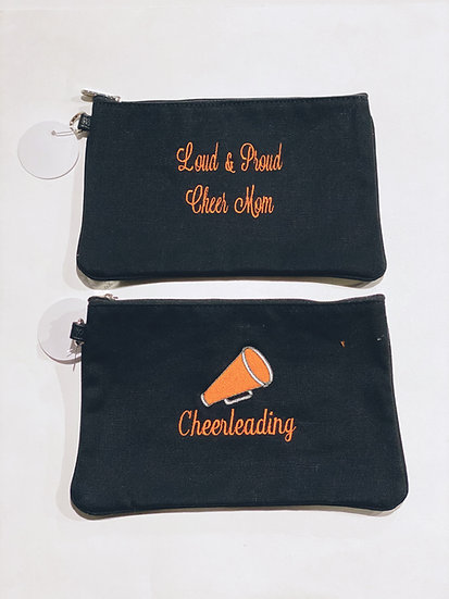 Cheerleading Zip Pouch