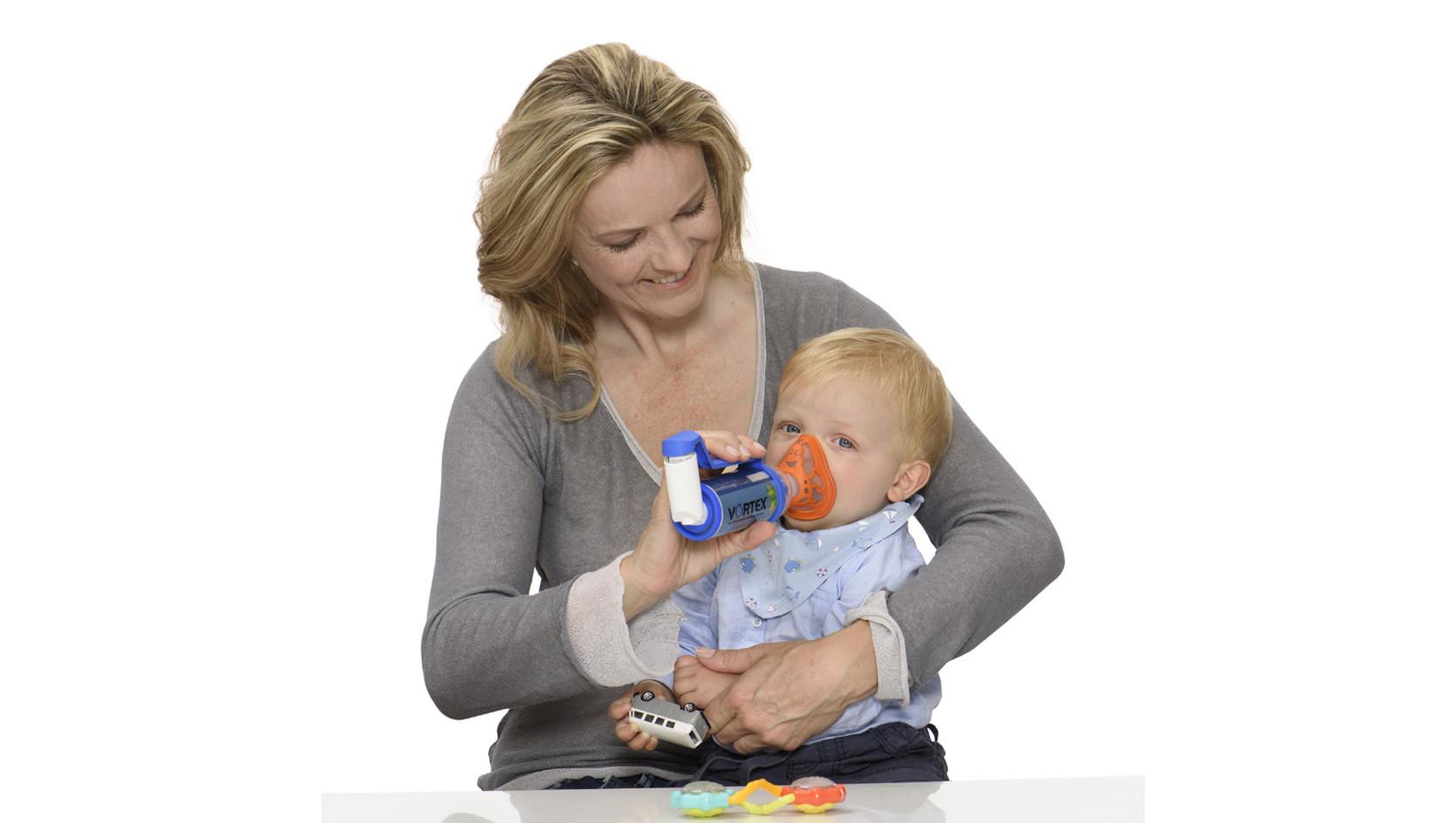 Vortex com máscara Joaninha para bebé