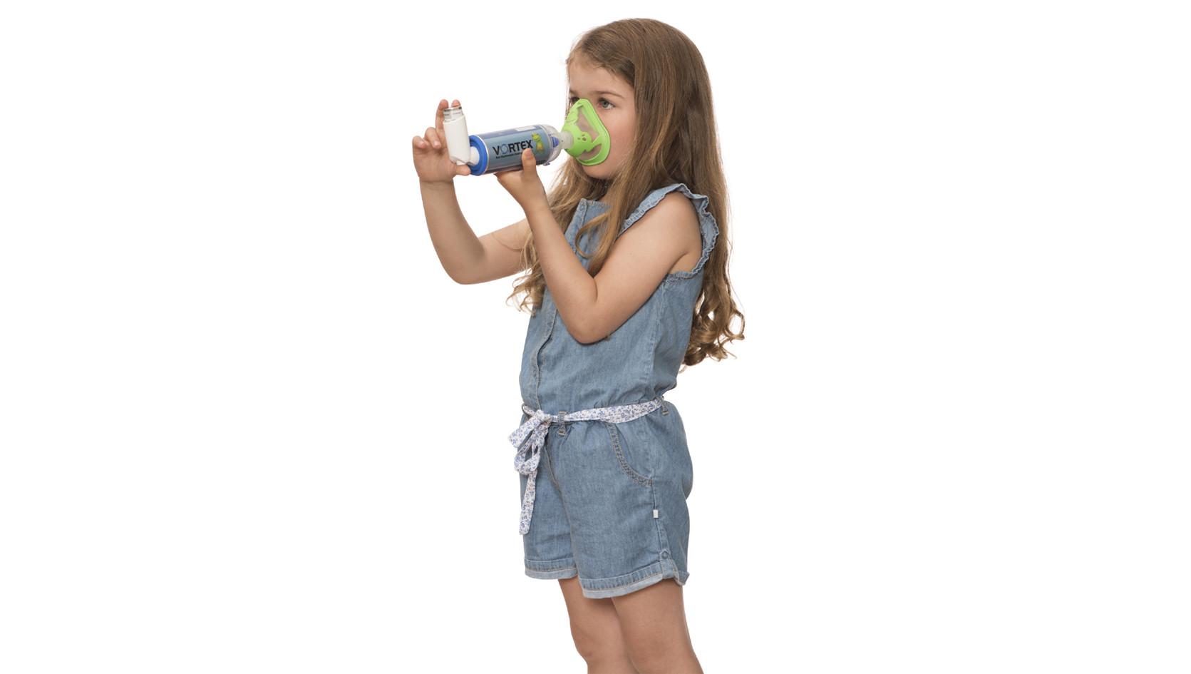 Vortex com máscara Sapo para criança