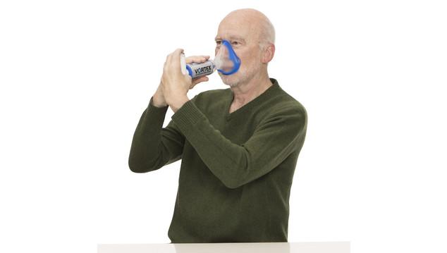 Vortex com máscara para adulto e crianças com mais de 4 anos