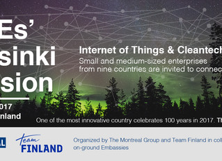 Helsinki Mission -  VisiLog apresenta suas soluções de Distribuição de Produtos e Serviços no Contex