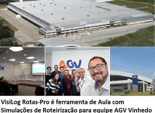 Workshop de Simulação e Roteirização Estratégica na AGV Logística