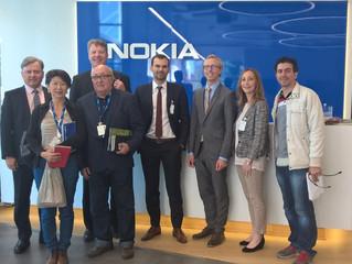 Visitas Técnicas na Nokia e outras empresas da Finlandia que estão trabalhando no tema das Smart Cit
