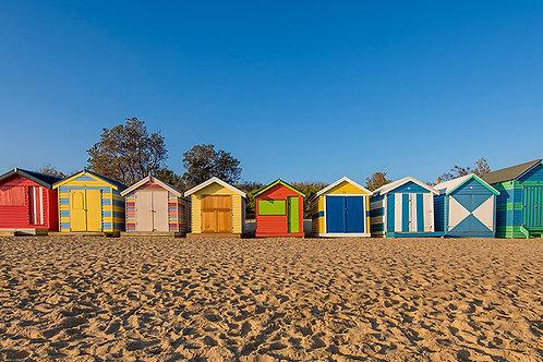 Brighton Beach Houses, Melbourne Victoria