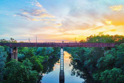 Old Railway Bridge, Katherine NT ~ KR020