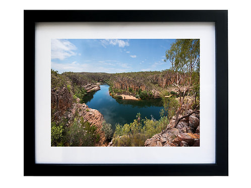 FRAMED PRINT - Pats Lookout 27 x 22 cm