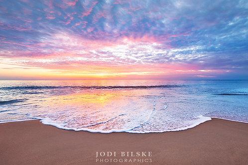 Sunset over Dundee Beach, NT