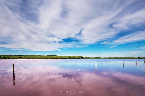 Pink Salt Lakes, South Australia ~ SA024