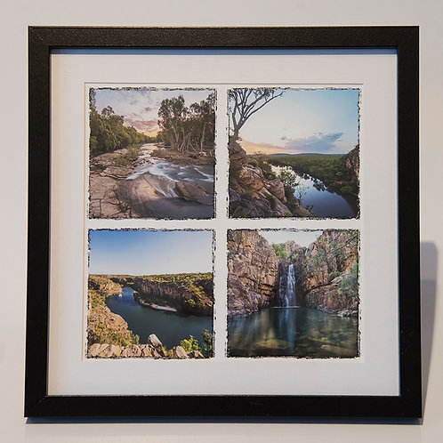 FRAMED PRINT - 270mm x 270mm - Various designs available