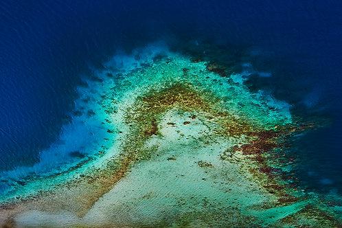 CANVAS PRINT - Bora Bora - 750mm x 500mm
