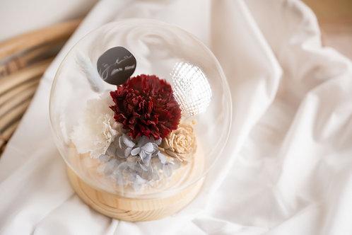 花球罩玻璃盎