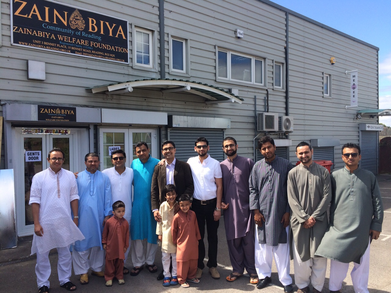 Celebrating first Eid at new centre