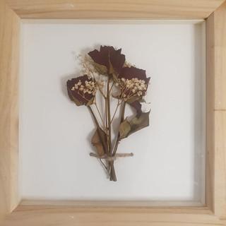 Still Arrangement in Pine Box Frame