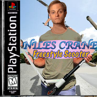 Niles Crane: Freestyle Scooter