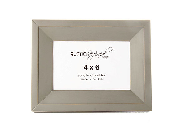 4x6 Haven Picture Frame - Grey Green