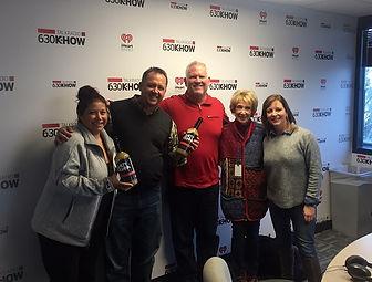 Founders of Salty Iguana on Gabby Gourmet Radio Show