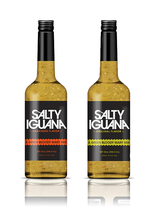 Salty Iguana Two Pack