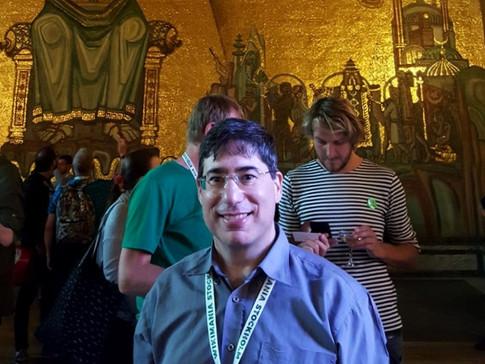 לטקס קבלת הפנים שנערך על ידי ראש העיר לכבוד משתתפי וויקימניה 2019 (הכנס הבינלאומי של הוויקיפדים מכל העולם), גם ויקימנטור הוזמן בשבילכם לחדר הזהב של עיריית שטוקהולם, בו נערך בכל שנה המשתה שלאחר טקס קבלת פרסי הנובל.