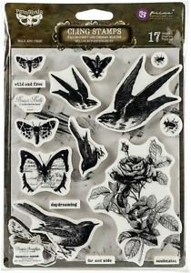 Cling Stamps - Wild and Free - Finnabair