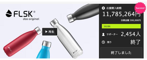 スタイリッシュで高性能。 手放せない秀逸ボトルFLSK(フラスク)がグレードアップ