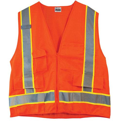 SitePro Safety Vest 23-500-OR Series