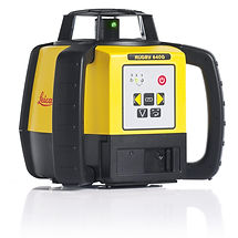 Leica Rugby 640G Green Beam Rotating Laser