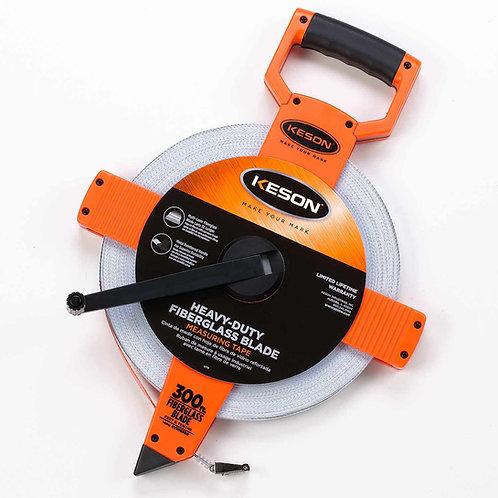 Keson OTR Series Fiberglass Tapes w/Hook End - Tenths