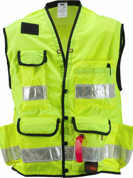 SECO 8069 Series Class 2 Safety Vests - Yellow - Select Size