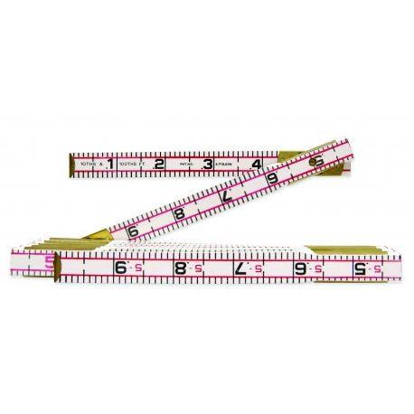 "Lufkin 5/8"" X 6' Red End® Engineer's Scale Wood Rule"