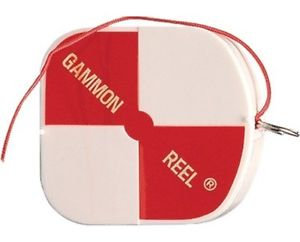 6 1/2' Gammon Reels - White/Red
