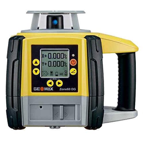 GeoMax Zone60 DG Rotating Laser Package #6012187