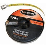 Keson ST Series Closed Housing Steel Tapes - 100ft Inches