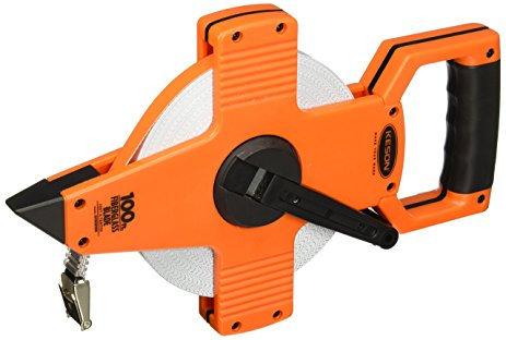 Keson OTR Series Fiberglass Tapes w/Hook End - Tenths & Inches