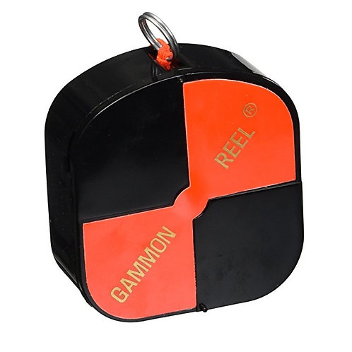 Gammon Reel 12' (Black/Orange)