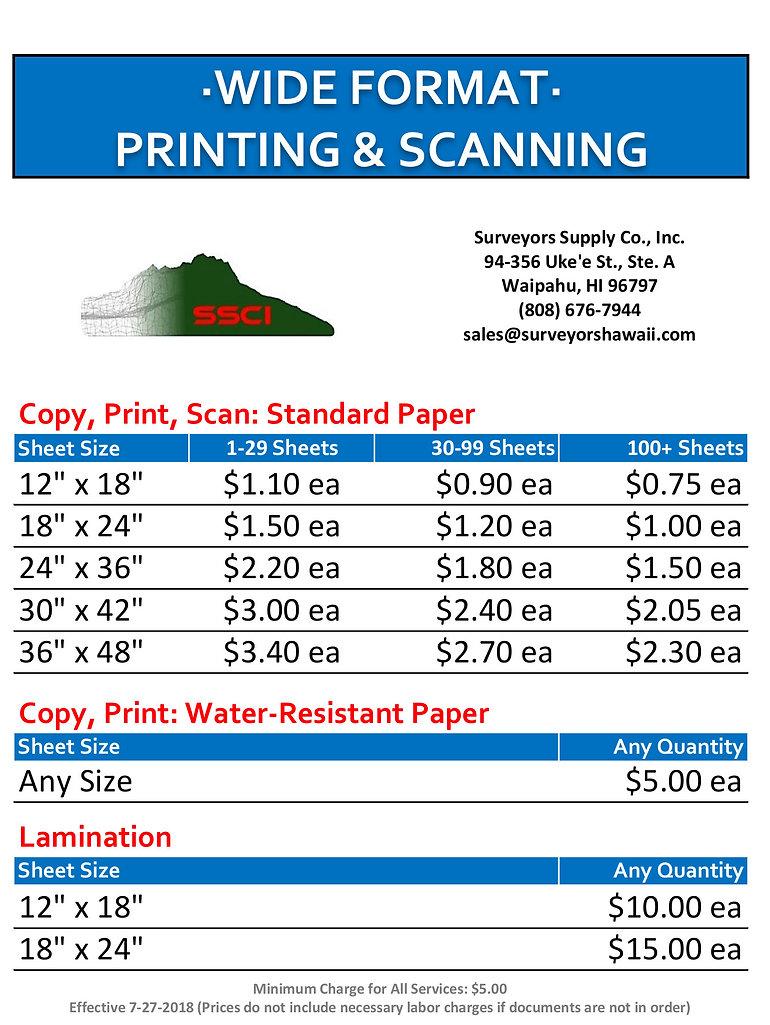 SSCI Wide Format Pricelist Final 2020080