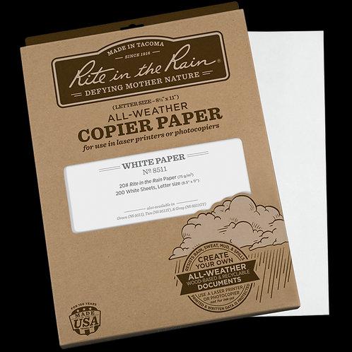 Rite In The Rain All-Weather Copier Paper - Letter Size