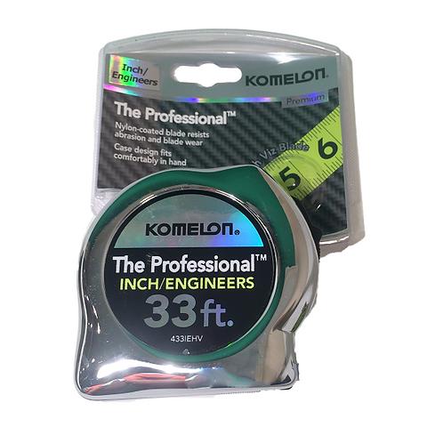 Komelon 33' High-Visibility Pocket Tape