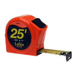 Lufkin Hi-Viz Pocket Tape 25' - Inches
