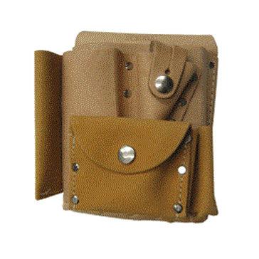 Sokkia 7-Pocket Surveyors' Leather Tool Pouch