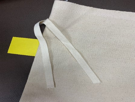 Hubco Canvas Sample Bags with Tags