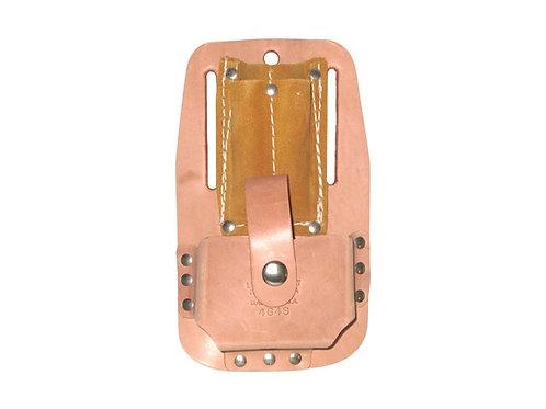 R & J Leathercraft Top Grain Tape & Knife Holder #464S