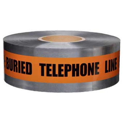Presco Detectable Tape - Buried Telephone Line - Select Size