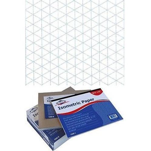 "Alvin 8.5"" x 11"" Isometric Paper - 100 Sheets"