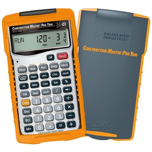 Calculated Industries Construction Master Pro Trig