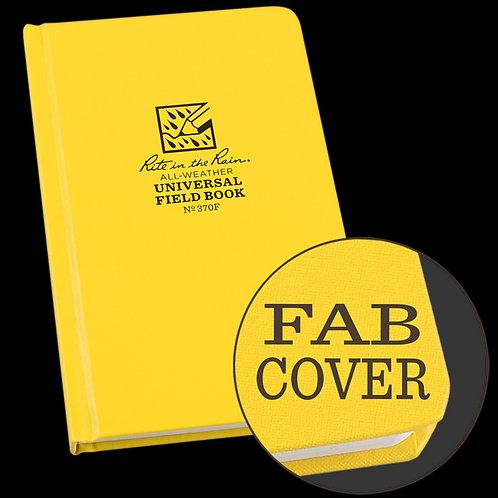 Rite In The Rain Hard Bound Fabrikoid Universal Book, #370F